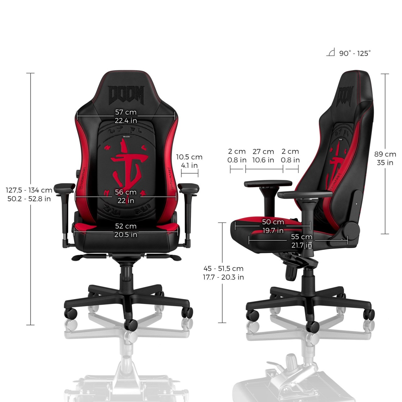 NOBLECHAIRS HERO Doom Edition